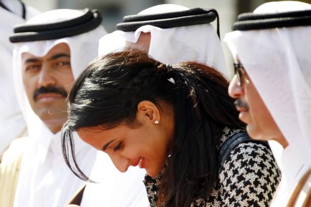 شقيقة أمير قطر الأكثر تأثيرا في الفن