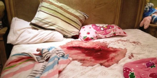 مقتل أم وأطفالها الأربعة بساطور