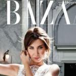 النجمة اللبنانية نانسي عجرم تتصدر غلاف مجلة هاربرز بازار