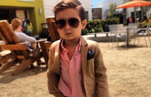 ألونسو ماتيو أجمل طفل في العالم وأصغر نجوم شركات الموضة