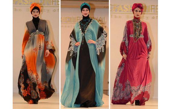 الموضة الإسلامية تطرق باب عاصمة الأناقة باريس
