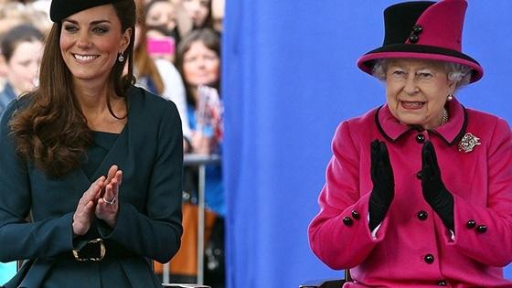 ملكة بريطانيا منزعجة من ملابس كيت ميدلتون القصيرة