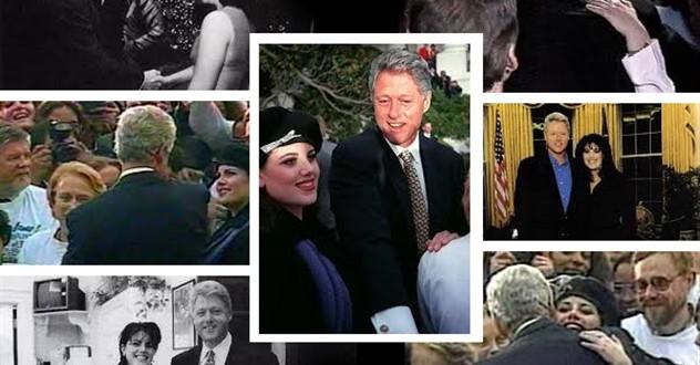 مونيكا لوينسكي عشيقة الرئيس كلينتون تفضح المستور