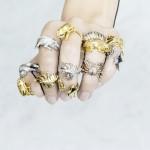 مجوهرات الزواحف المخيفة: نهج جديد في الموضة