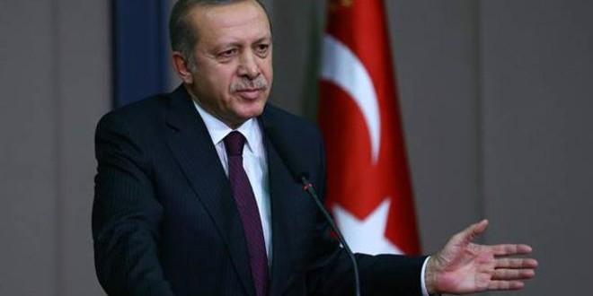 أردوغان: المرأة لا يمكن أن تتساوى بالرجل