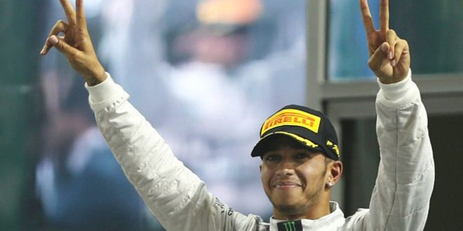 لويس هاميلتون بطلا لسباقات فورمولا 1 للمرة الثانية في تاريخه.