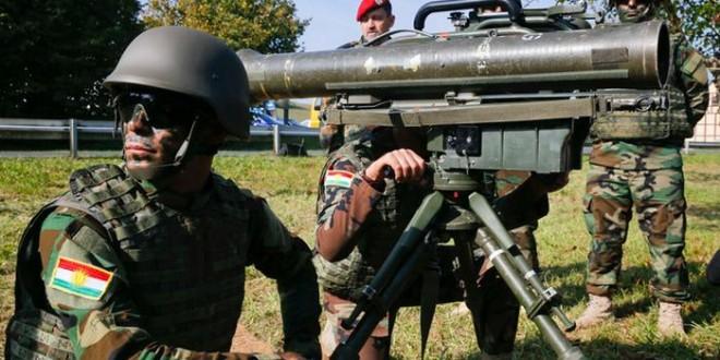 """تقدم الوحدات الكردية في مواجهة مقاتلي """"داعش"""" في كوباني."""