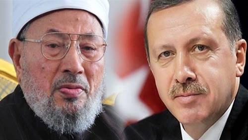 أردوغان ينتقد سعي مصر لطلب القرضاوي من إنتربول.