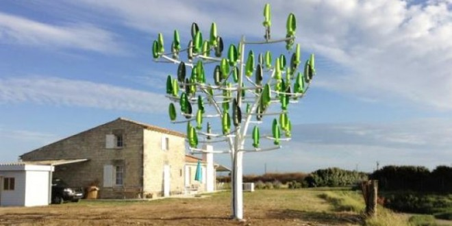 اختراع جديد: شجرة لتوليد الكهرباء.