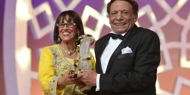 عادل إمام نجم افتتاح مهرجان مراكش السينمائي الدولي.