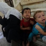 ملايين الاطفال السوريين اللاجئين قد يؤون للفراش ببطون خاوية.
