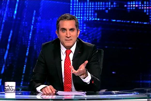 """تغريم باسم يوسف 50 مليون جنية بسبب """"البرنامج"""""""