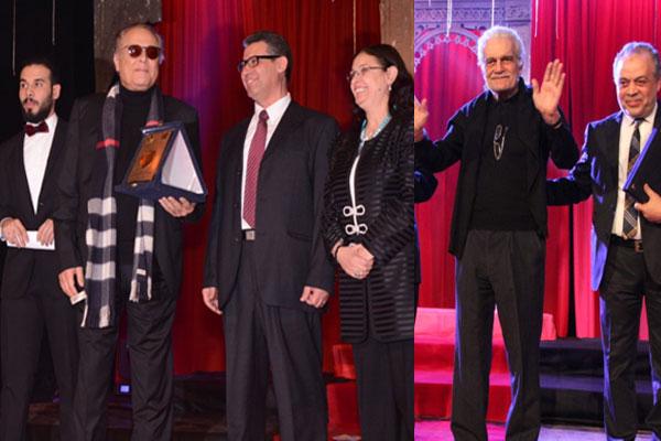 المسرح العربي يكرّم عمر الشريف ومحمود عبد العزيز.