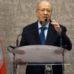 السبسي يؤدي اليمين لتولي الرئاسة التونسية.