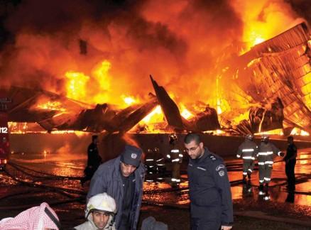 عاجل : حريق بمحكمة الاستئناف بالبيضاء.