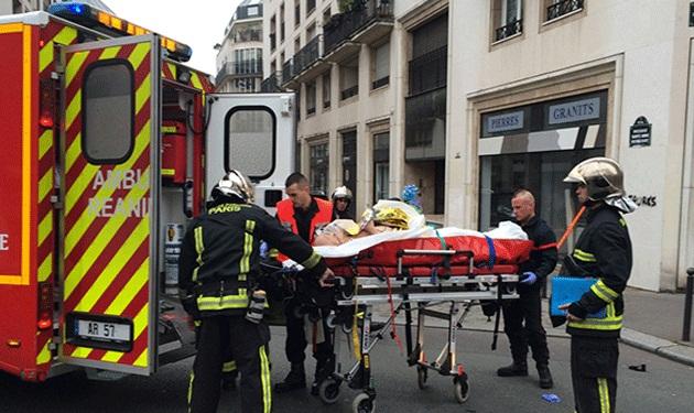 """12 قتيلا بهجوم """"شارلي إيبدو"""" في باريس."""