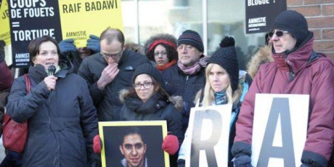 السعودية تؤجل الدفعة الثانية من عقوبة جلد رائف بدوي.