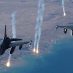 """قصف مكثف للتحالف ضد """"الدولة الإسلامية"""" قرب كركوك وكوباني."""