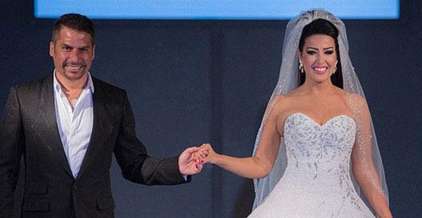فستان زفاف يدخل سمية الخشاب موسوعة غينيس للأرقام القياسية.
