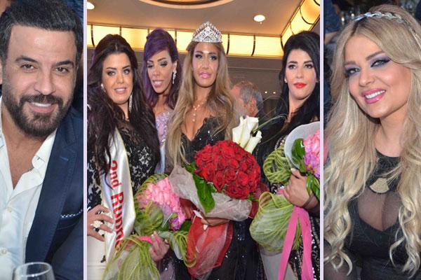 سالي سعيدون تُتوّج ملكة جمال الرشاقة.