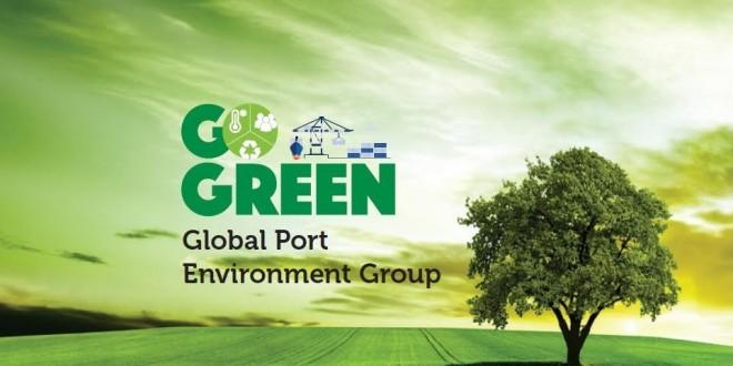شركة APM Terminals Tangier ترتدي الحلة الخضراء.