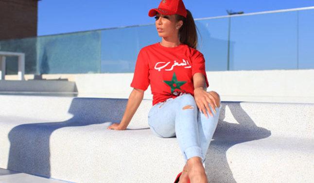"""دنيا بطمة تُحيي المسيرة الخضراء بـ""""المغرب مغربنا"""""""