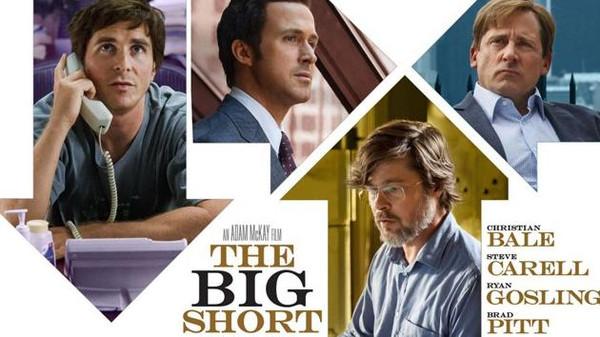 منتجو هوليوود يختارون The big short أفضل أفلام 2015