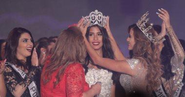 نادين أسامة تفوز بلقب ملكة جمال مصر والوصيفة الأولى ميرا عازر