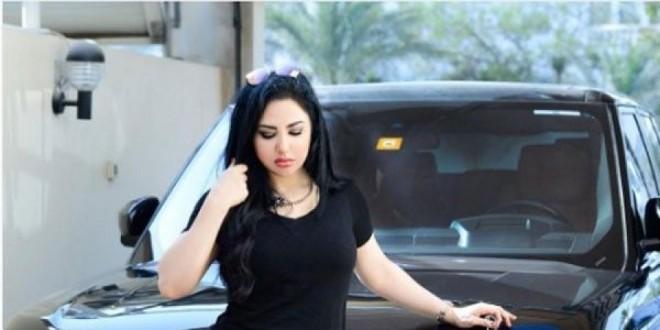سهير القيسي تستعرض سيارتها الفارهة على طريقة محمد رمضان