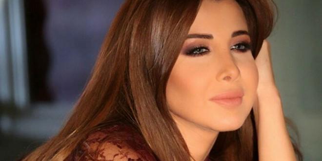 نانسي عجرم تحتفل بالسنة الجديدة في أبو ظبي