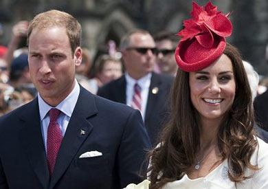 الأمير وليام ممنوع من إمساك يد زوجته كايت