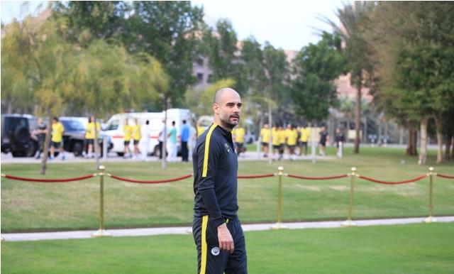 جوارديولا يؤكد على أهمية بطولة كأس مانشستر سيتي أبوظبي ودورها في صناعة نجوم المستقبل