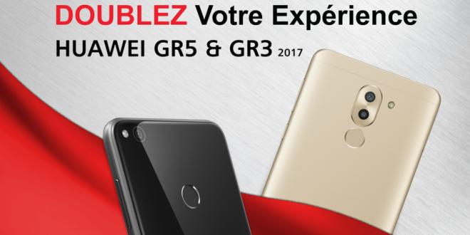 هواوي تطلق النسخة الجديدة كليا لهواتفها الذكيةGR5 2017 وGR3 2017 بكاميرا مزدوجة وتصميم زجاجي مزدوج