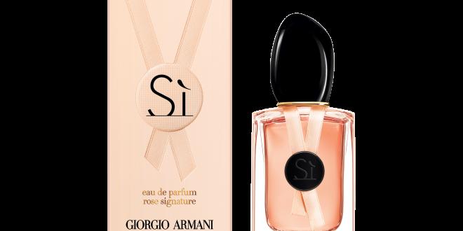 si rose signature العطر الأكثر إغراءا من Giorgio Armani