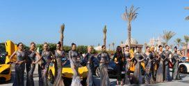 المصممة منال عجاج تعرض تصاميمها الى جانب أغلى 100 سيارة في العالم