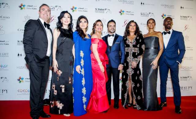 "GYUNEL COUTURE  تقدم دعمها إلى حفل ""غلوبال غيفت غالا""السنوي الخامس في دبي"