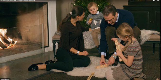 العائلة المالكة السويدية تتفوق على عائلة الأمير ويليام بصور رائعة للكريسماس