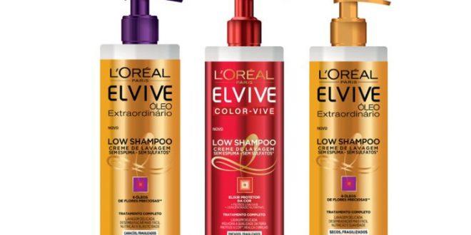 LOW Shampoo كريم المنظف الجديد من L'Oréal