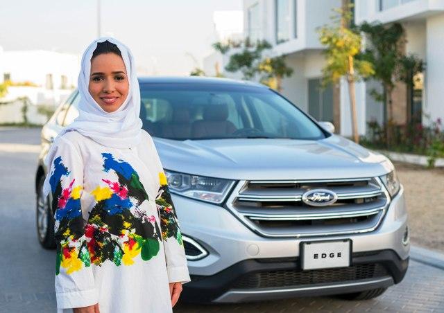 فورد وجامعة عفت يدفعان النساء إلى كتابة التاريخ في المملكة العربية السعودية من خلال دورة تعليم القيادة الآمنة