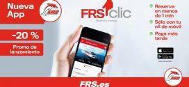 """التطبيق الجديد لـ FRS """"FRS1clic"""" يتيح الحجز في أقل من دقيقة"""
