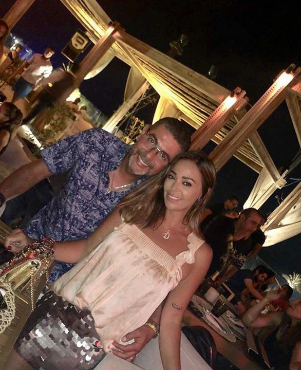 داليا البحيري مع زوجها الثالث.. جميلة وجذابة