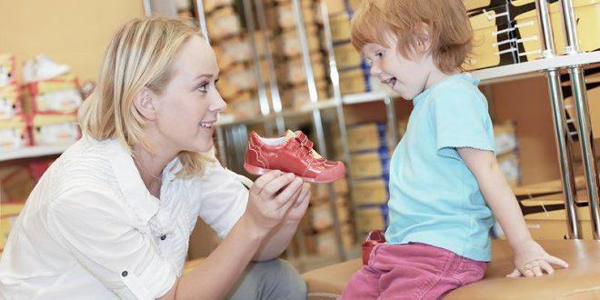 اختاري الحذاء المثالي لطفلك