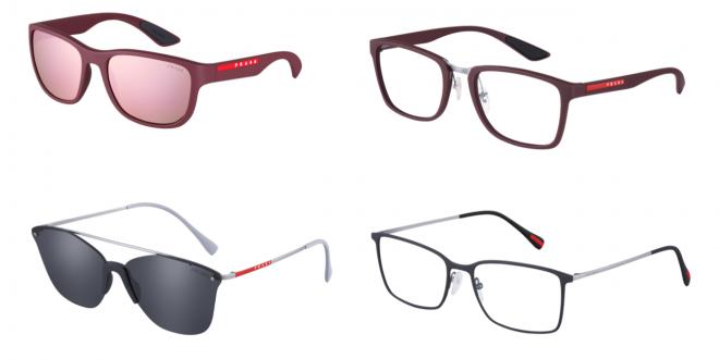 مجموعة نظارات PRADA LINEA ROSSA لموسم خريف وشتاء 2018
