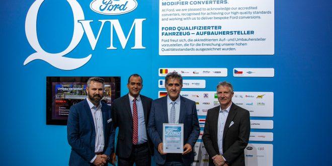 فورد تطلق برنامج معدلي المركبات المؤهلين QVM في شمال أفريقيا وتختار CECI وTRAMAUTO كأول خبراء معتمدين