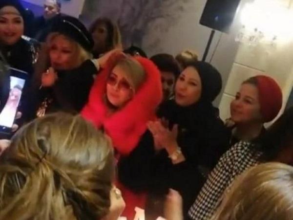 شهيرة تصدم الجمهور بملابسها في عيد ميلادها