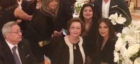 ظهور جديد لسوزان مبارك بصحبة شقيقها في حفل زفاف