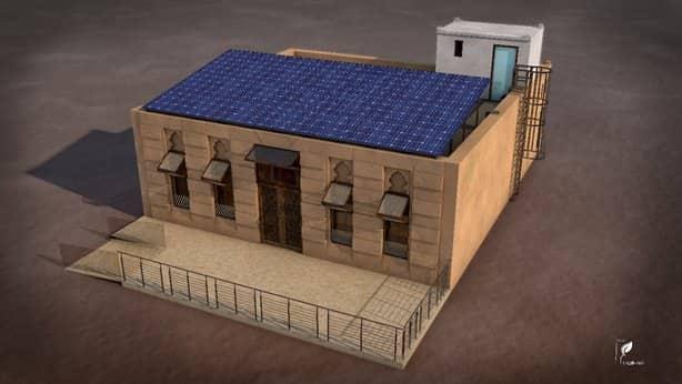 """""""تدارت"""" TADD-ART بيت صديق للبيئة تبنيه سواعد وأفكار شباب مغاربة"""