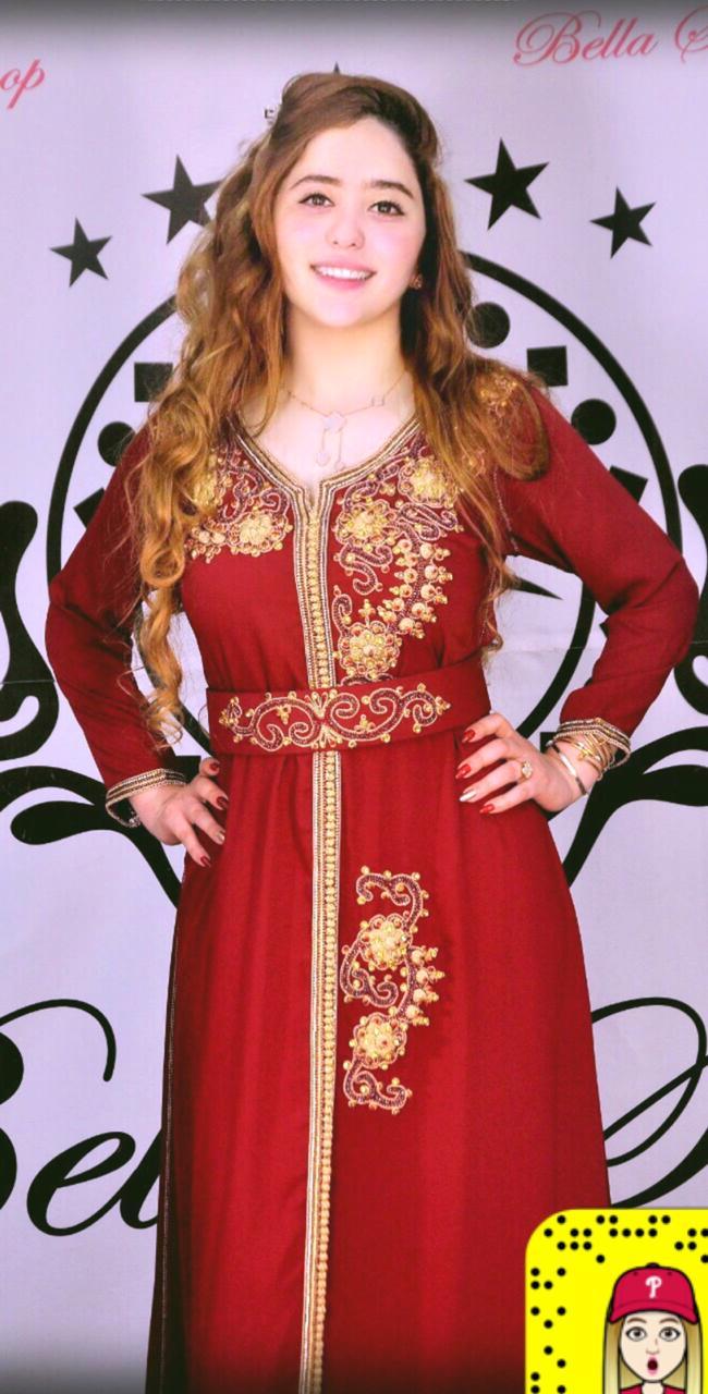 المصممة بشرى bella shop تكشف عن تشكيلة جديدة من القفطان المغربي