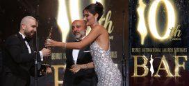الدوزي يتوج  بجوائز مهرجانات بيروت الدولية