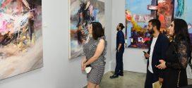 بالصور.. افتتاح معرض لفنانين سوريين وأتراك تحت عنوان  ثقافتان بأربعة ألوان